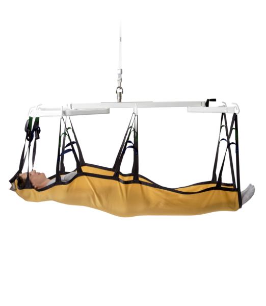 Guldmann-Horizontal lifting support, stepless weight adjustment