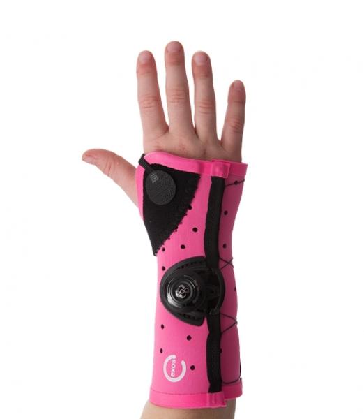 EXOS -Pediatric Short Arm Fracture Brace - Open Thumb