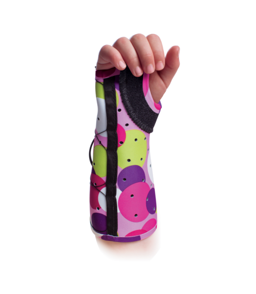 EXOS -Pediatric-Short-Arm-Fracture -Brace - Open-Thumb